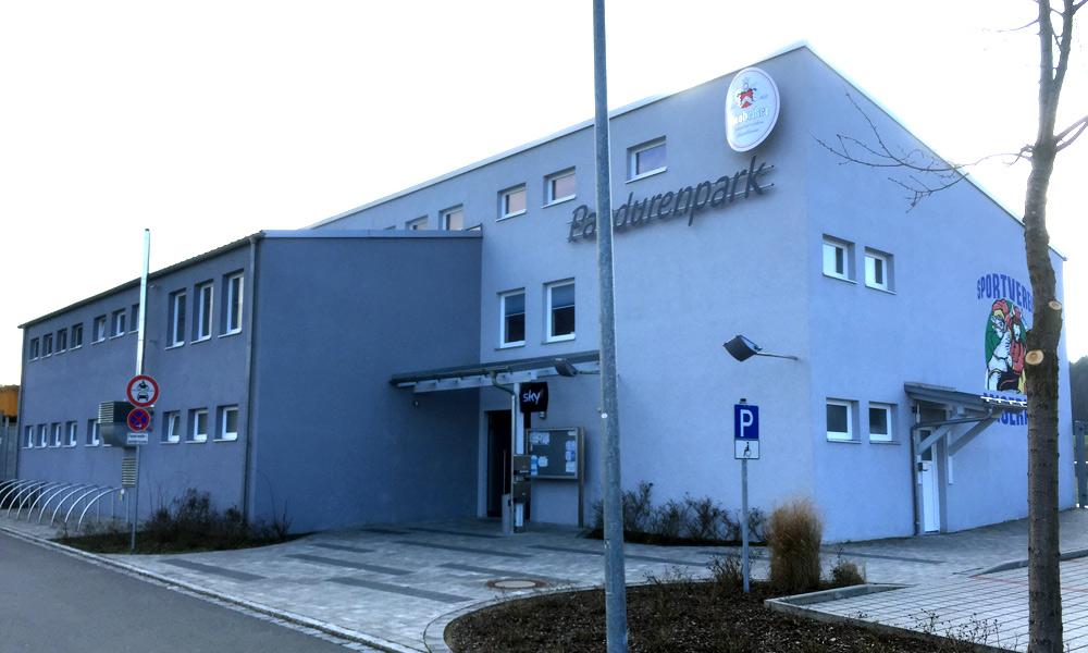 Vereinsheim am Pandurenpark, Raigering